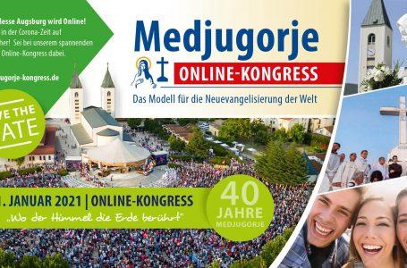 MEDŽUGORJE – PASAULES JAUNĀS EVAŅĢELIZĀCIJAS MODELIS ONLINE KONGRESS 2021. GADA 30.-31. JANVĀRĪ