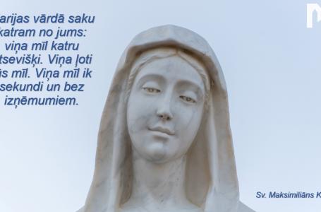 PIRMĀ DIENA: Jaunavas Marijas kronēšana (29. diena)