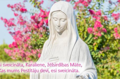 OTRĀ DIENA: Marija, visu siržu Karaliene (30. diena)
