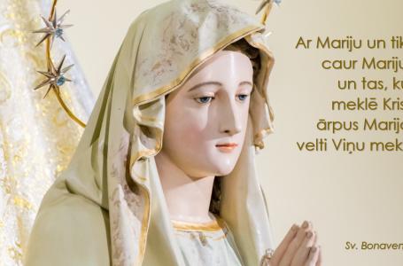 TREŠĀ DIENA: Marija, Vienotības Karaliene (31. diena)