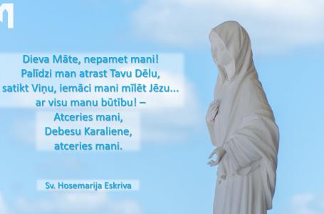PIEKTĀ DIENA: Marija, Baznīcas Māte (33. diena)