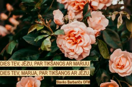 SVINĪGA SEVIS VELTĪŠANA JĒZUM KRISTUM CAUR MARIJAS ROKĀM (IZLASIET LAICĪGI)