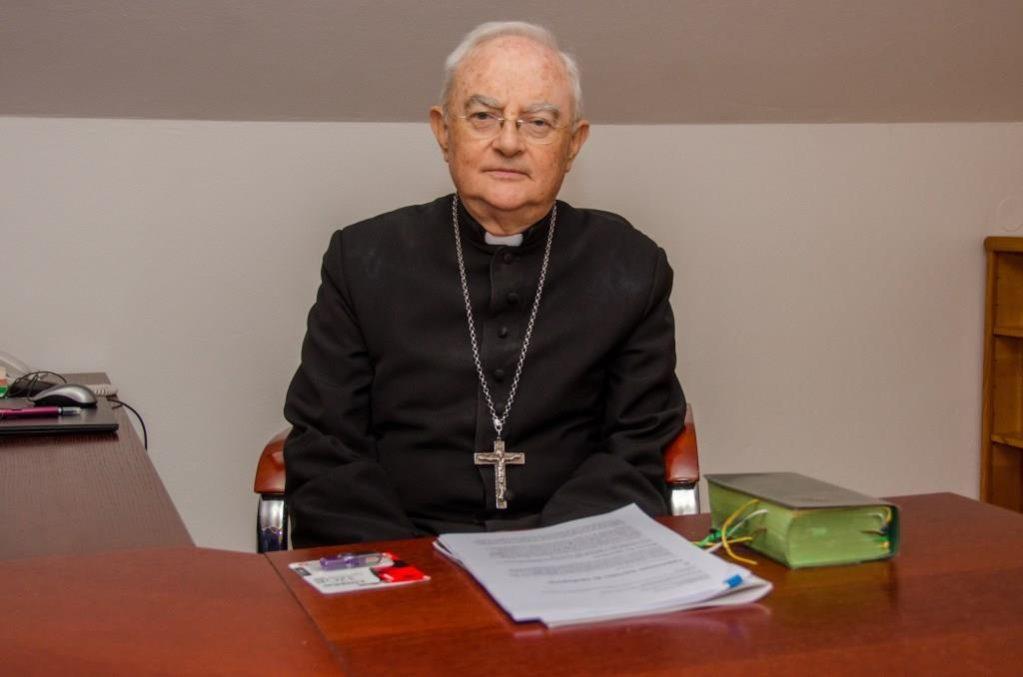 Svētā krēsla īpašā sūtņa Henrika Hozera preses konference  2017. gada 5. aprīlī plkst. 16.00 Sv. Jāņa Pāvila II